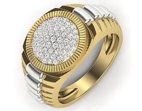 Signet Ring 3dm stl render detail 3D print