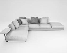 Furniture series modern sofa - 6 3D model