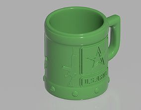 3D print model US army cup