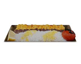 Kabab Barg Recipe 3D asset realtime