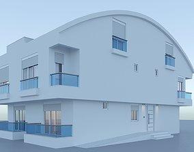 3D model Basic Building 003