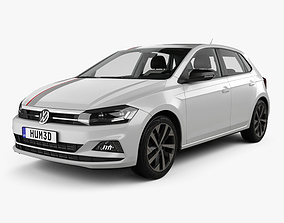 3D Volkswagen Polo Beats with HQ interior 2017