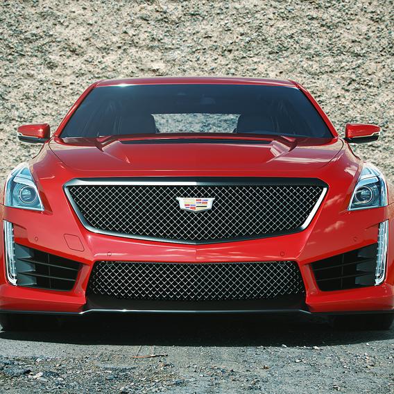 Cadillac ATS-V Front