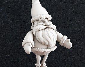 3D print model december Santa Claus Christmas