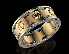 rings Wedding Ring 3D print model