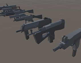 SPS Mobile Weapons pack 1 3D asset