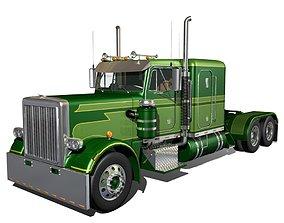 359 Custom Semi Truck 3D model