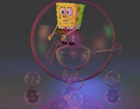 3D model Bubble Car Spongebob Squarepants