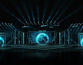 other 3D model Event stage design