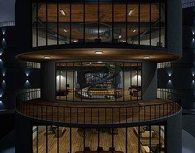 3D model Research Center 01