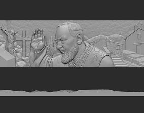 Padre Pio Scene 3D print model