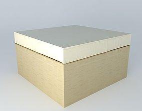 3D model Pouf IBIZA beige houses the world