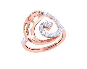 ring diamond IF-109 3D print model