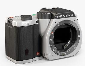 Pentax K-01 3D asset