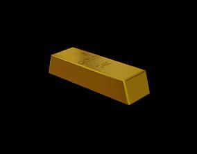 3D model realtime Gold Bar