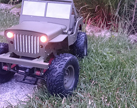 RC MB Jeep 3d print model