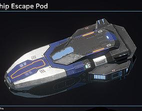 Spaceship Escape Pod 3D model