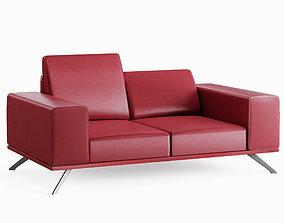 3D asset Sofa Presence 2P