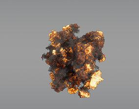 3D model Aerial Explosion 04 - VDB