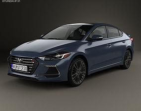 Hyundai Avante Sport 2017 3D model