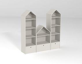 3D model Shelving house