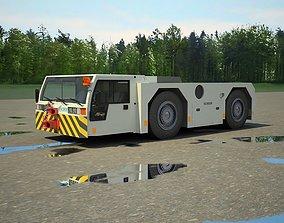 Airport tow tractor SCHOPF F300 3D model