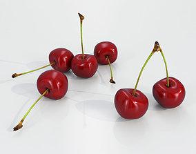 Cherry Fruit 3D model