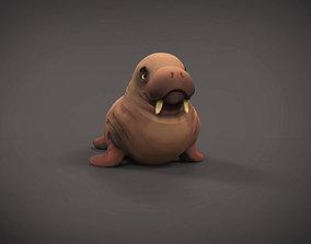Walrus printable toy