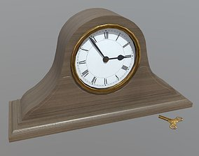 3D model Mantle clock