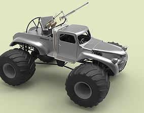 Big Foot from Mad Max Fury Road 3D model