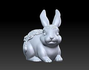 3D printable model 3d Rabbit