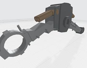 3D printable model MG GUNDAM v1-5 LEG and KNEE joint