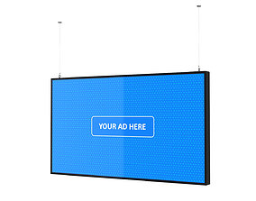 Digital Panel Horizontal 55 Inch digital 3D