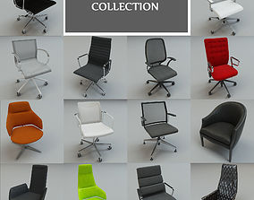 office seats collection 14 3d models