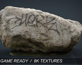 Rock 3d 3D model low-poly