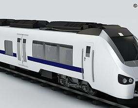Commuter Train Generic 3D