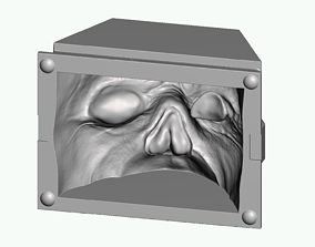 Maxillofacial prosthetic work model