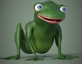 3D model Happy Frog Stylized