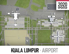 Kuala Lumpur International Airport - KUL 3D asset
