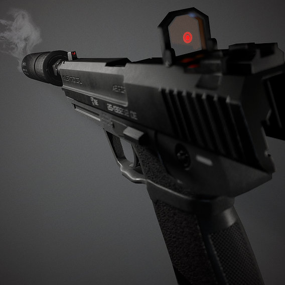 HK USP Tactical 45.ACP
