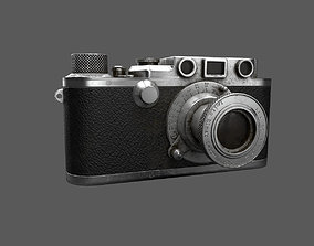 3D asset Leica old camera