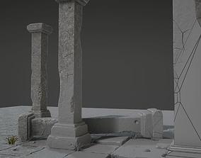 3D asset Column Set