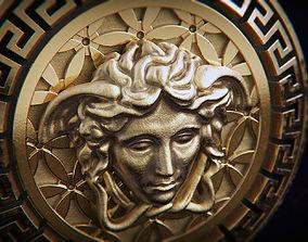 3D printable model Versace Medusa pendant L