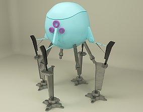 future 3D model Mini robot