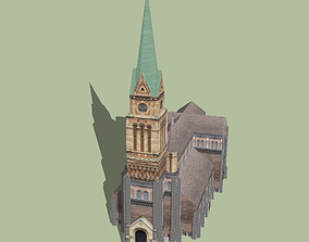 St Francis of Assisi Church Ferencvaros 3D