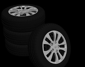 Honda accord 2013 - 2017 rim 3D