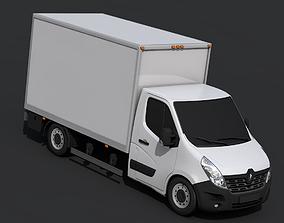 3D model Renault Master Pickup 2018