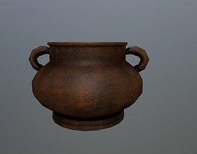 3D model realtime Clay vase