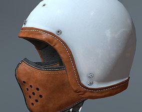 Motorcycle helmet and mask 3D model