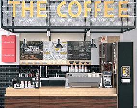 3D food Coffee Shop